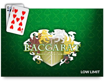 baccarat professional series standard limit casino