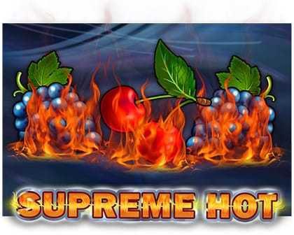 machine à sous Supreme Hot du logiciel EGT