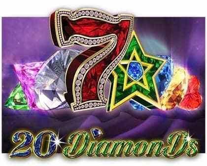 machine à sous 20 Diamonds du logiciel EGT