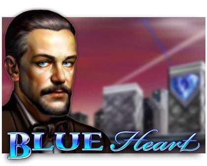 machine à sous Blue Heart du logiciel EGT