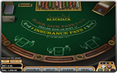 Single Deck Blackjack du logiciel Betsoft