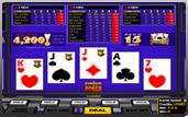 jeu vidéo poker Pyramid Poker du logiciel Betsoft