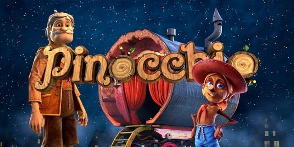 machine à sous en ligne Pinocchio