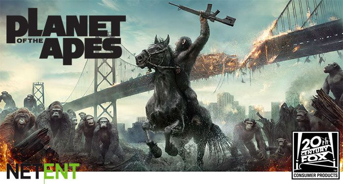 machine à sous en ligne Planet of the Apes NetEnt