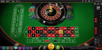 roulette en ligne red tiger gaming