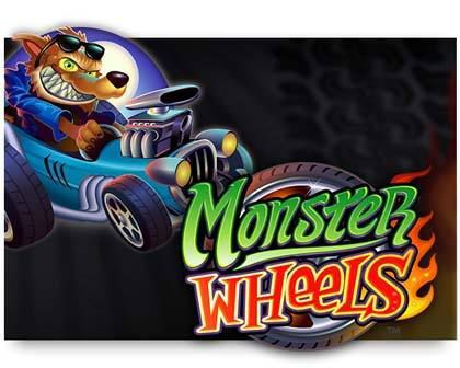 machine à sous en ligne Monster Wheels logiciel Microgaming