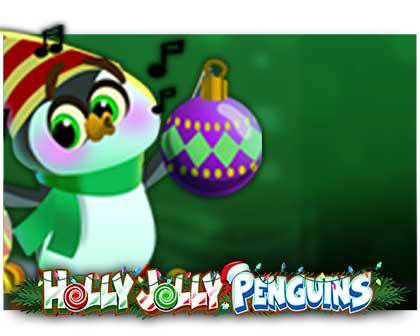 machine à sous en ligne Holly Jolly Penguins logiciel Microgaming