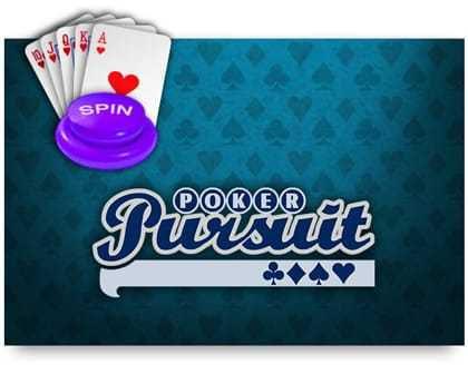 jeu vidéo poker en ligne Poker Pursuit logiciel iSoftBet