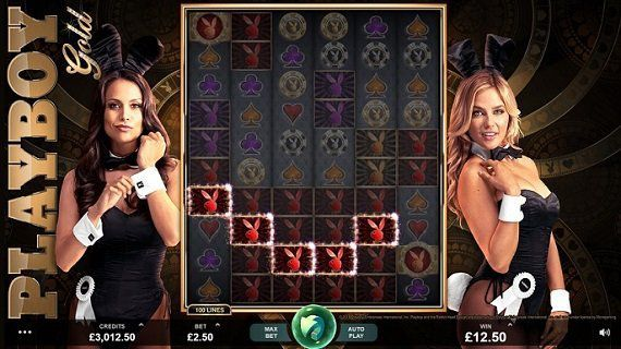 machine à sous Playboy Gold de Microgaming