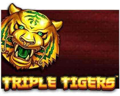 machine à sous Triple Tigers logiciel Pragmatic Play