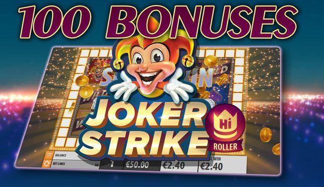 machine à sous en ligne Joker Strike développeur Quickspin