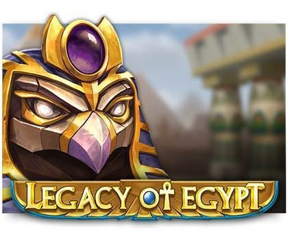 machine à sous Legacy of Egypt logiciel Play'n Go