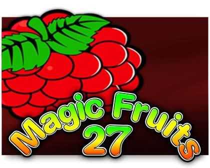 machine à sous Magic Fruits 27 logiciel Wazdan