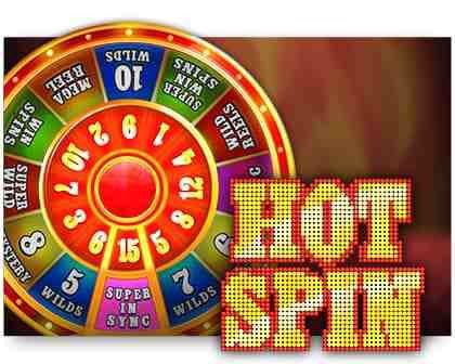 machine a sous Hot Spin logiciel iSoftBet