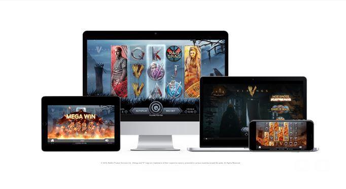 machine a sous en ligne et mobile Vikings développeur NetEnt