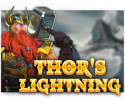 machine à sous Thor's Lightning logiciel Red Tiger Gaming