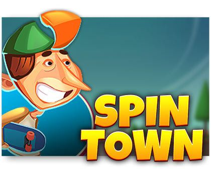 machine a sous Spin Town logiciel Red Tiger Gaming