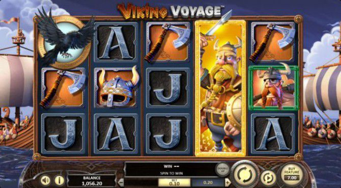machine à sous Viking Voyage golden king