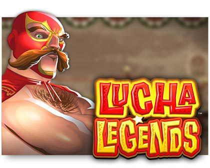 machine a sous Lucha Legends logiciel Microgaming