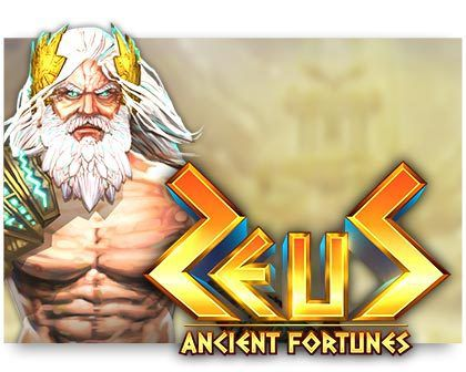 machine a sous Ancient Fortunes: Zeus logiciel Microgaming