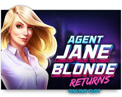 machine a sous Agent Jane Blonde Returns logiciel Microgaming