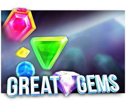machine à sous Great Gems logiciel Red Tiger Gaming