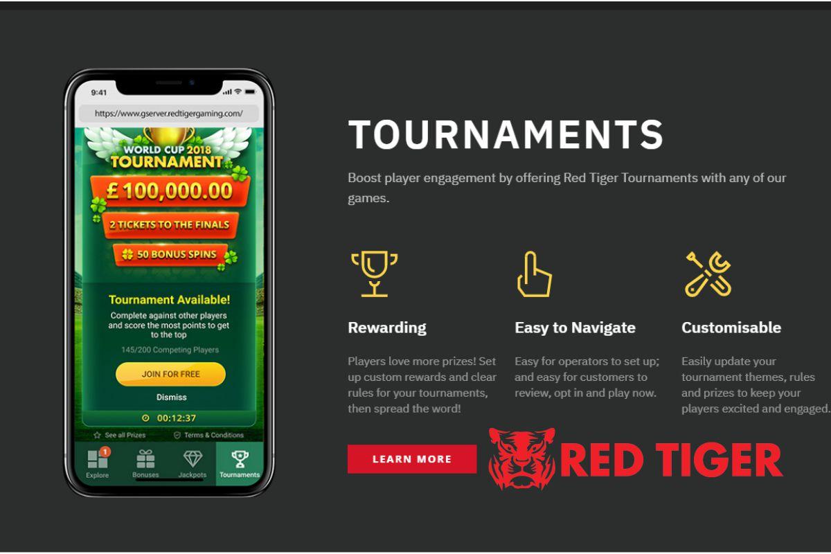 outil de jeu Tournaments du développeur Red Tiger Gaming