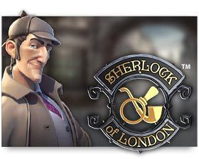 machine a sous Sherlock of London logiciel Microgaming
