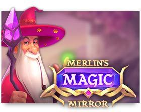 machine a sous Merlin's Magic Mirror logiciel iSoftBet