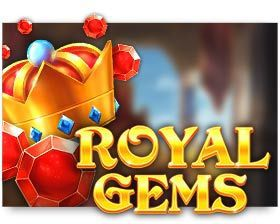 machine a sous en ligne Royal Gems logiciel Red Tiger Gaming