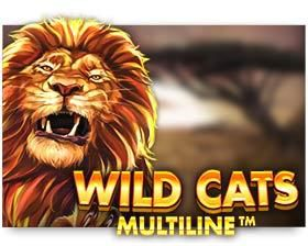 machine a sous en ligne Wild Cats Multiline logiciel Red Tiger Gaming