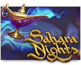 machine a sous en ligne Sahara Nights logiciel Yggdrasil