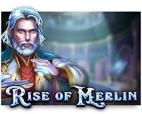 machine asous Rise of Merlin logiciel Play'n Go