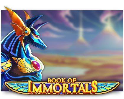 machine a sous Book of Immortals logiciel iSoftBet