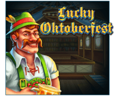machine a sous en ligne Lucky Oktoberfest logiciel Red Tiger Gaming