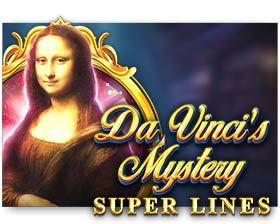 machine a sous en ligne Da Vinci's Mystery Super Lines logiciel Red Tiger Gaming