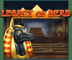 machine a sous Legacy of Dead logiciel Play'n Go