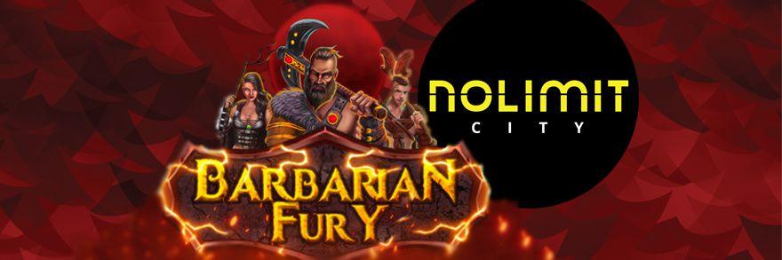 machine à sous en ligne Barbarian Fury développeur Nolimit City