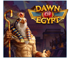 machine a sous en ligne Dawn of Egypt logiciel Play'n Go