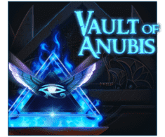 machine a sous en ligne Vault of Anubis logiciel Red Tiger Gaming