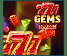 machine a sous en ligne 777 Gems Respin logiciel Booongo