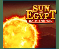 machine a sous en ligne Sun of Egypt logiciel Booongo