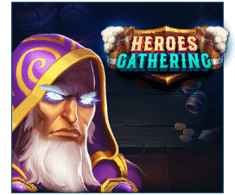 machine a sous Heroes Gathering logiciel Relax Gaming