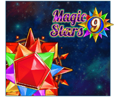 machine a sous Magic Stars 9 logiciel Wazdan