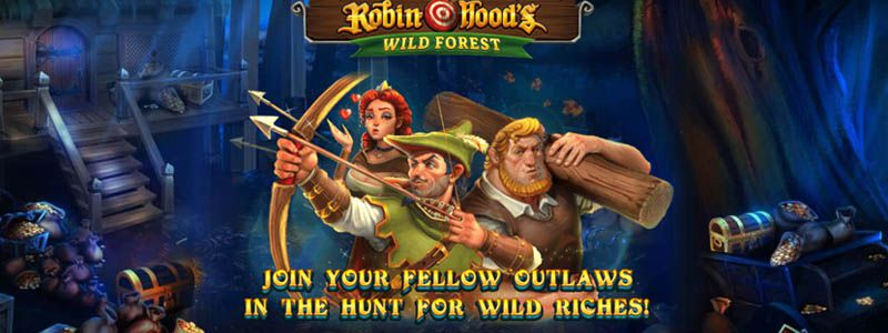 machine à sous en ligne Robin Hood's Wild Forest développeur Red Tiger Gaming