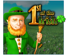 machine a sous en ligne 1st of the Irish logiciel Red Rake Gaming