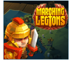 machine a sous mobile Marching Legions logiciel Relax Gaming