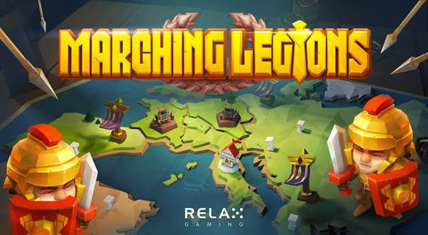 machine a sous Marching Legions développeur Relax Gaming