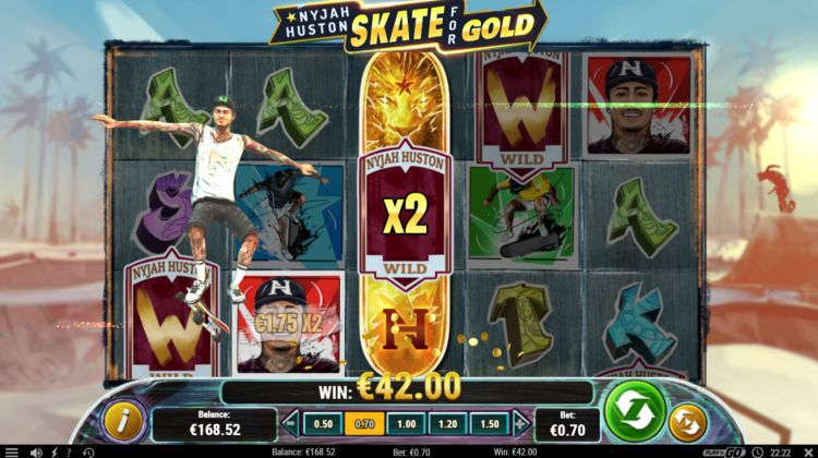 machine a sous en ligne Nyjah Huston - Skate for Gold symboles wild