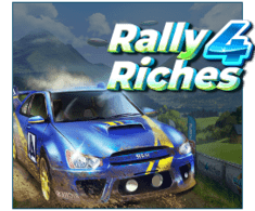 machine a sous mobile Rally 4 Riches logiciel Play'n Go